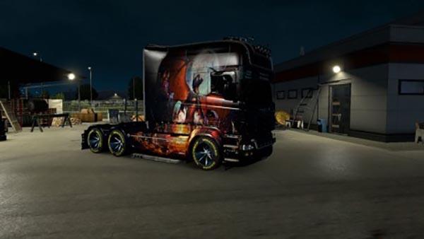 Scania RJL EXC Longline Phenix Skin