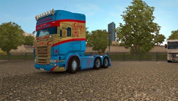 Scania RJL Golden Eagle Skin