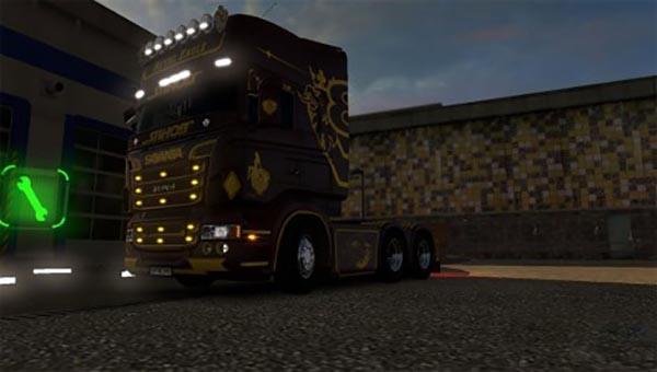 Scania RJL Royal Eagle Skin