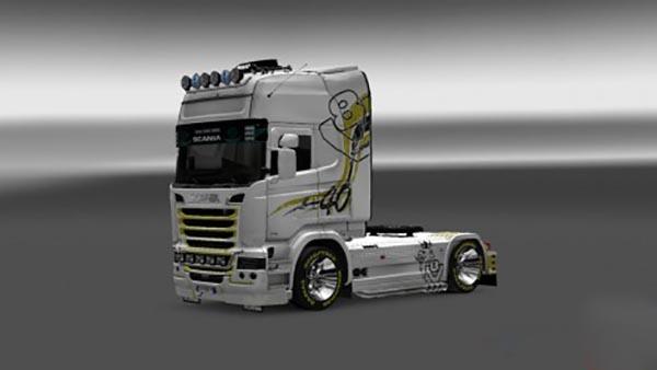 Scania Streamline DS5 Skin