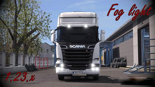 Scania Streamline Fog light v1.5