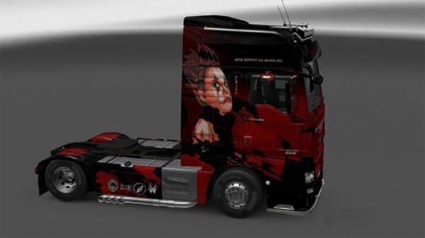 "Skin ""Sweet 666"" for MAN TGX Euro6"