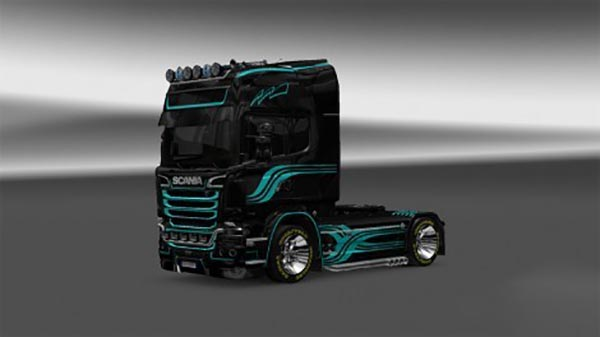 Skin SD v4 for Scania Streamline