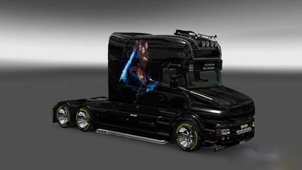 Skin Warrior for Scania T Longline