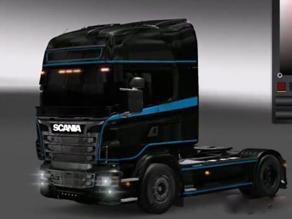 Skins for Scania R2009