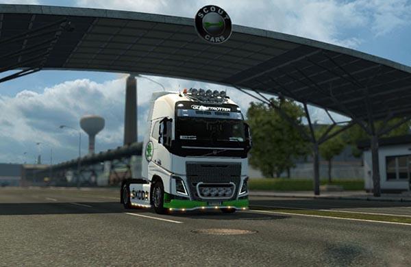 Skoda Skin for Volvo FH