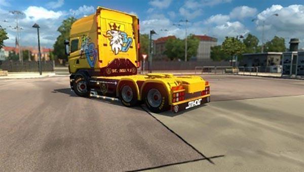 Swedish Power Yellow RJL