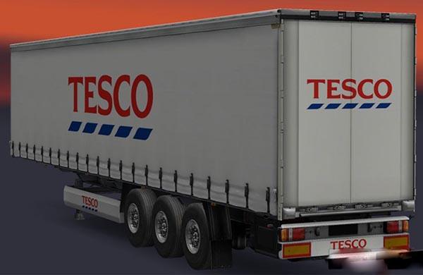 Tesco Trailer