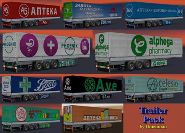 Trailer Pack Pharmacy Chains 1.0