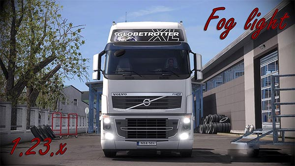 Volvo FH 16 Fog light v1.5