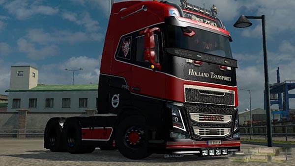 Volvo Holland Transport Skin