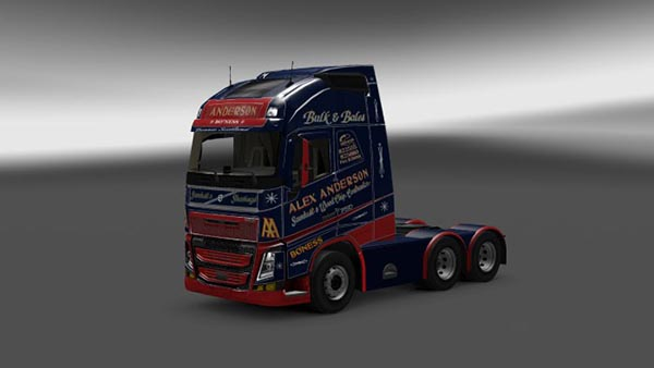 Alex Anderso skin for Volvo Fh