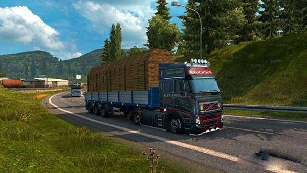 Alex Anderson skin for Volvo 2009