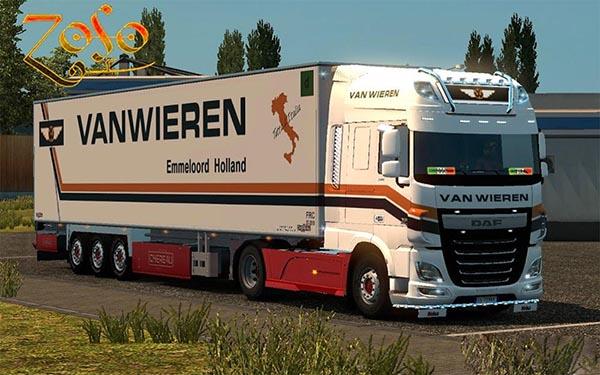 Daf xf e6 Ohaha Van Wieren skin
