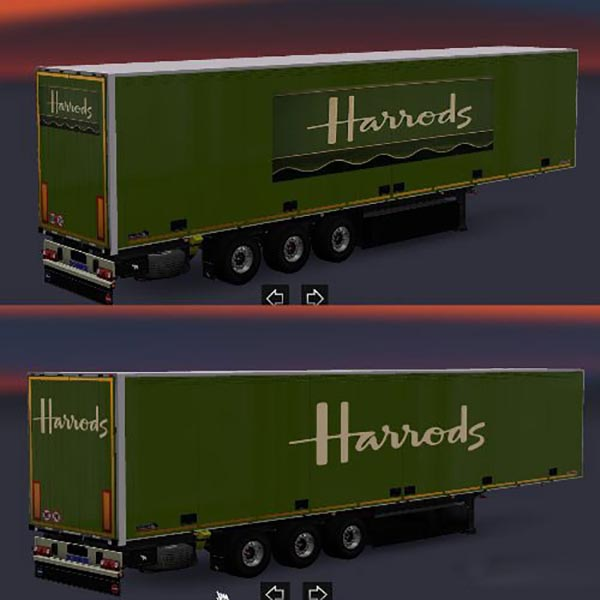 Harrods Schmitz Trailers