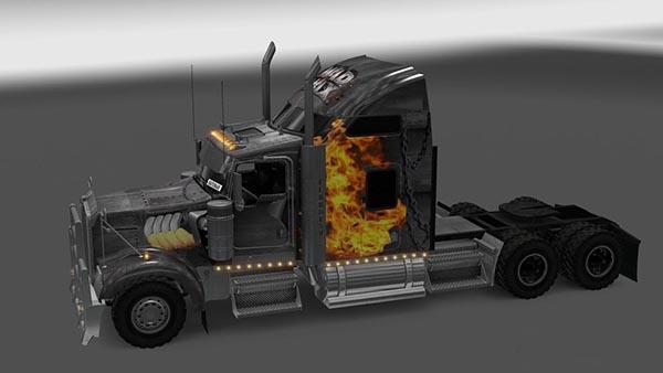 Kenworth W900 Mad Max Skin
