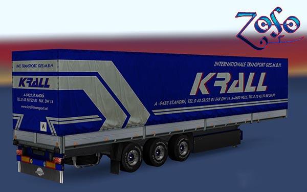 Krall Int. Transport Schmitz Trailer