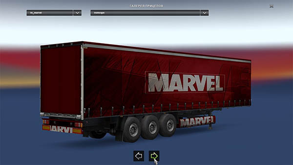 Marvel Superheroes v1.0 Trailers Pack