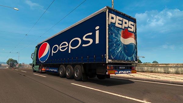 Pepsi Trailer