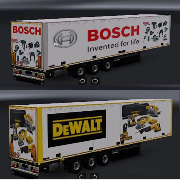 Powertools Trailer Skins Pack