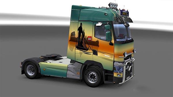 Renault Range T RTA Italian Paint Job 2