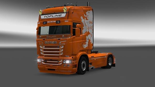 Scania RJL Dutch Skin