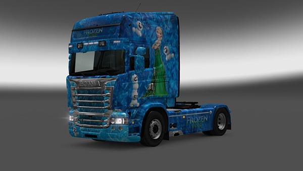 Scania RJL Frozen Fever Skin