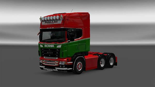 Scania RJL Matthijs B. Bolt Transport Skin