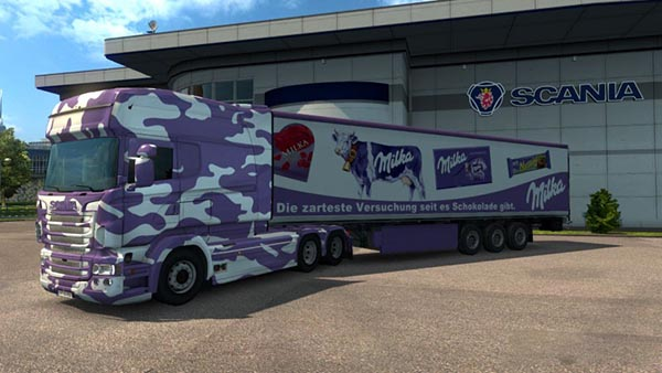 Scania RJL R Multi Milka Combination Pack