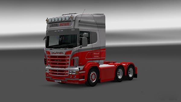 Scania RJL Wrennall Brothers Skin