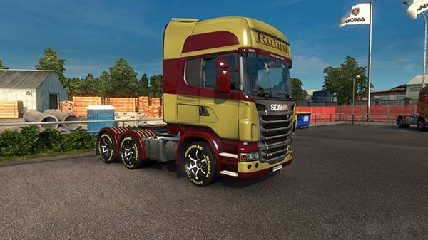 Scania RS RJL Rubin Skin