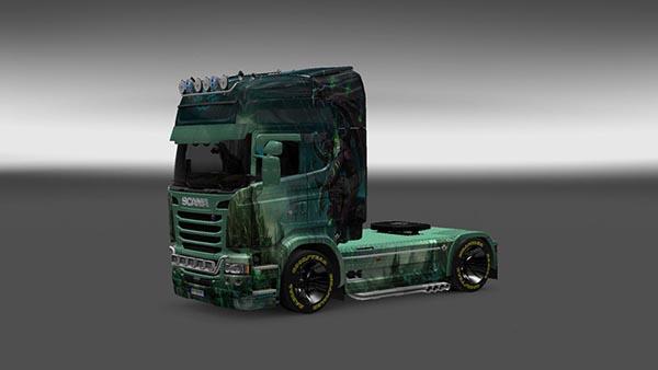 Scania Streamline Gargulia Skin
