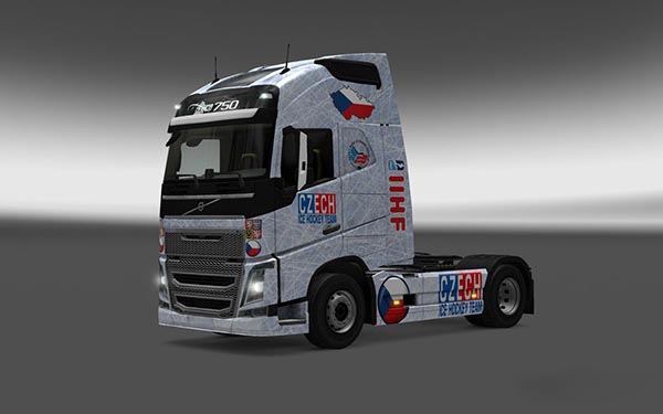 Volvo FH 2012 Czech Hockey Skin