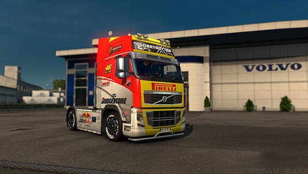 Volvo FH16 Racing Skin