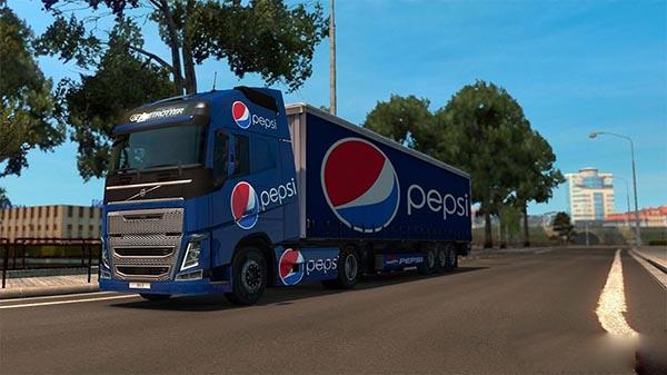 Volvo Pepsi Combo