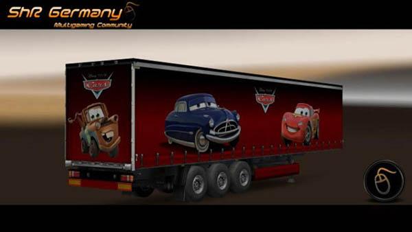Cars Profiliner Trailer