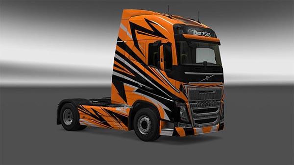 Custom Volvo Skin