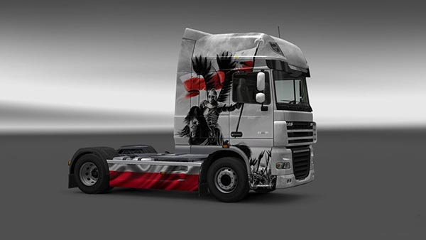 DAF XF Warrior Skin
