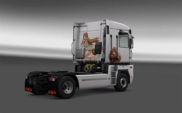 Holo Spice And Wolf Renault Magnum