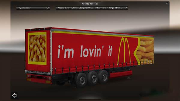 McDonalds 3D Trailer