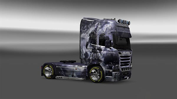 Oboroten Skin for Scania Streamline