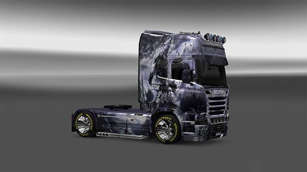 Oboroten Skin for Scania Streamline