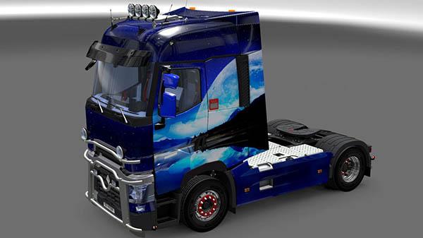 Renault Range T RTA Night Skin