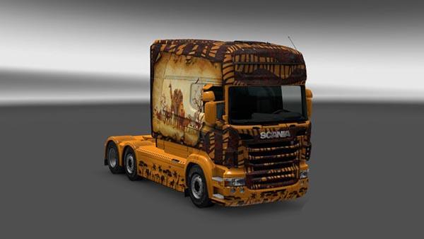 Scania Longline RJL Africa Skin