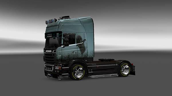 Scania R 2009 Hedgehog in the Fog Skin