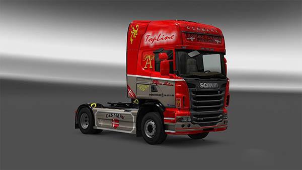 Scania R 2009 P.Bjarne Andersen