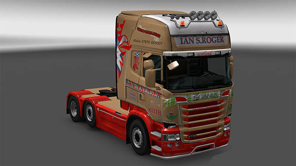 Scania R &S Topline Ian S.Roger skin