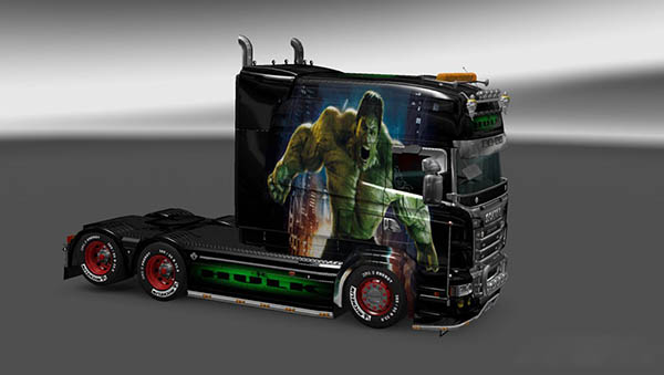 Scania RJL Longline Hulk Skin