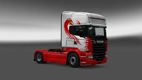Scania RLJ Red Beast Topline