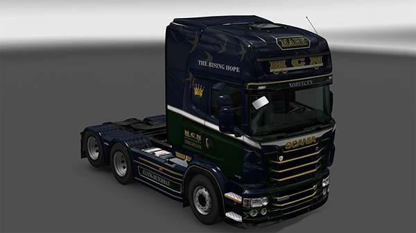 Scania R&S Topline H.C.N. transport skin